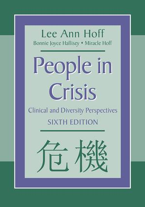 People in Crisis: Clinical and Diversity Perspectives, 6th Edition (Paperback) book cover