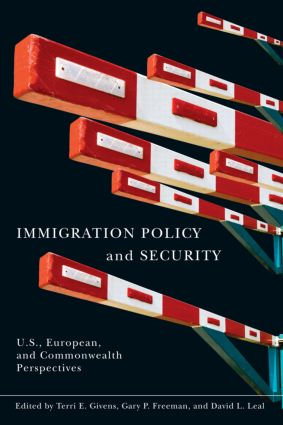 Immigration Policy and Security: U.S., European, and Commonwealth Perspectives, 1st Edition (Paperback) book cover