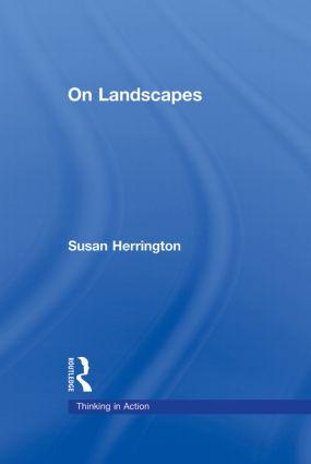 On Landscapes (Hardback) book cover