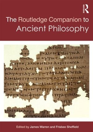 Routledge Companion to Ancient Philosophy (Hardback) book cover