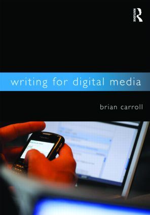 Writing for Digital Media (Paperback) book cover