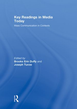 Key Readings in Media Today: Mass Communication in Contexts, 1st Edition (Hardback) book cover