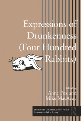 Expressions of Drunkenness (Four Hundred Rabbits) (Hardback) book cover