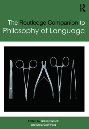 Routledge Companion to Philosophy of Language (Hardback) book cover