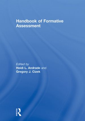 Handbook of Formative Assessment (Hardback) book cover