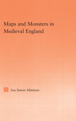 Maps and Monsters in Medieval England (Paperback) book cover