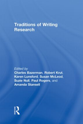 Traditions of Writing Research: 1st Edition (Hardback) book cover