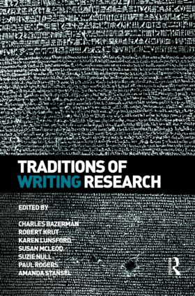 Traditions of Writing Research (Paperback) book cover