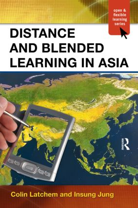 Distance and Blended Learning in Asia (Paperback) book cover