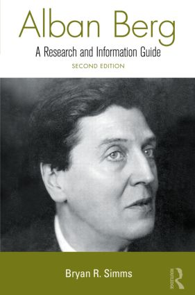 Alban Berg: 2nd Edition (Hardback) book cover