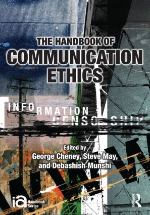 The Handbook of Communication Ethics book cover