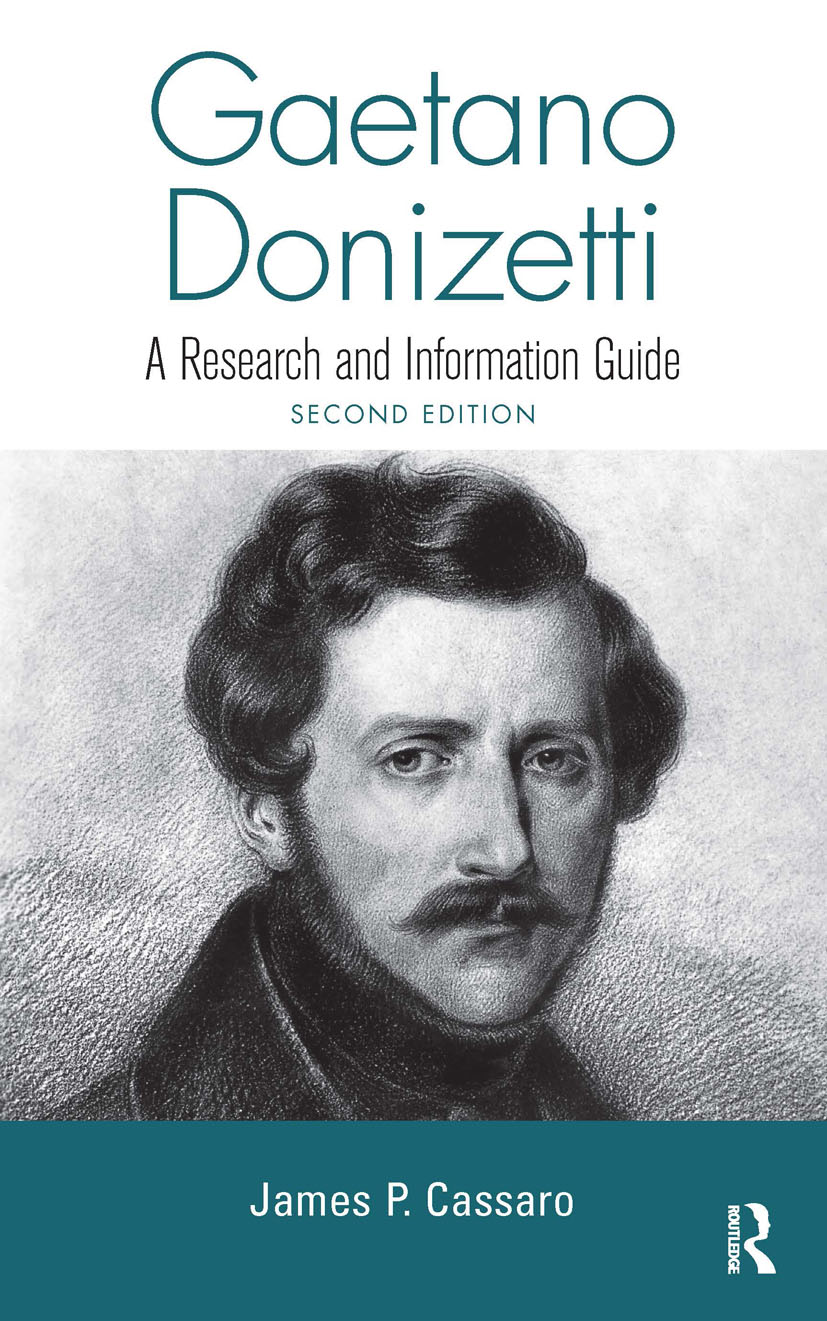 Gaetano Donizetti: A Research and Information Guide, 2nd Edition (Hardback) book cover