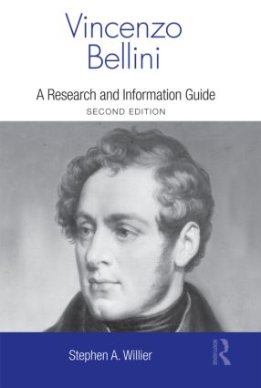 Vincenzo Bellini: A Guide to Research, 2nd Edition (Hardback) book cover