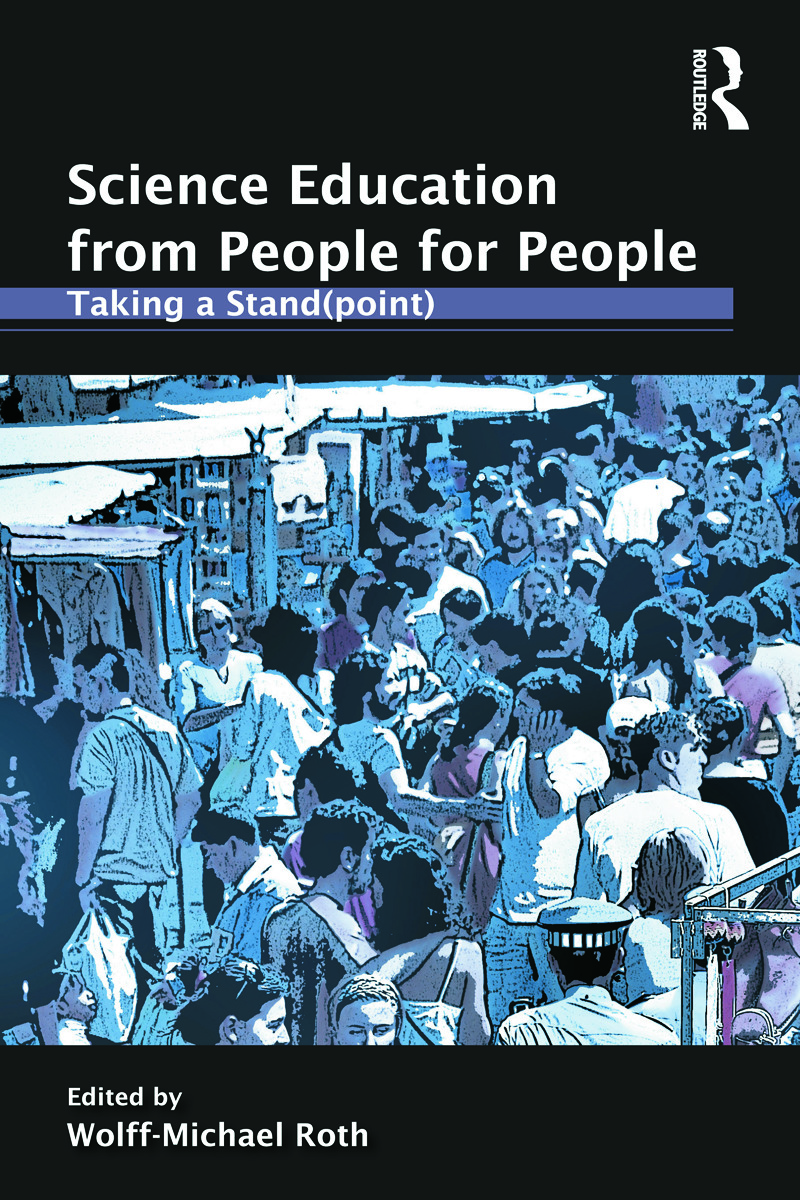 Science Education from People for People: Taking a Stand(point) (Paperback) book cover