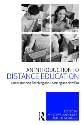An Introduction to Distance Education: Understanding Teaching and Learning in a New Era (Paperback) book cover