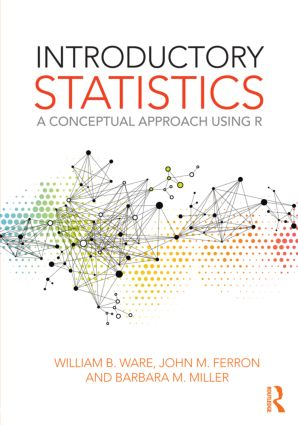 Introductory Statistics: A Conceptual Approach Using R (Paperback) book cover