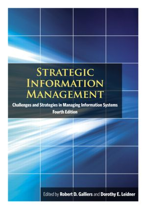 Strategic Information Management: Challenges and Strategies in Managing Information Systems, 4th Edition (Paperback) book cover
