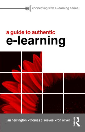 A Guide to Authentic e-Learning: 1st Edition (Paperback) book cover