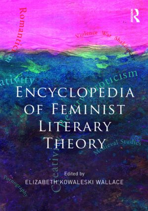 Encyclopedia of Feminist Literary Theory (Paperback) book cover