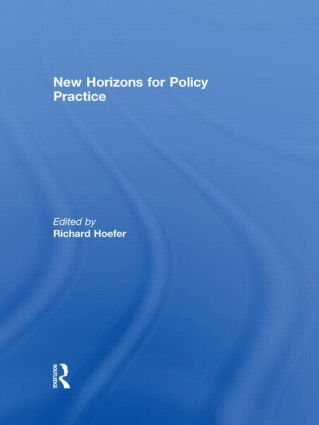 New Horizons for Policy Practice (Hardback) book cover