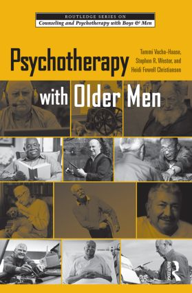 Psychotherapy with Older Men: 1st Edition (Hardback) book cover