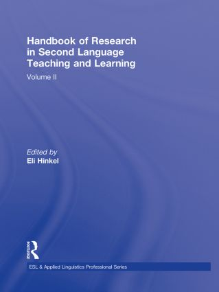 Handbook of Research in Second Language Teaching and Learning: Volume 2 (Hardback) book cover