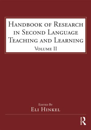 Handbook of Research in Second Language Teaching and Learning: Volume 2 (e-Book) book cover