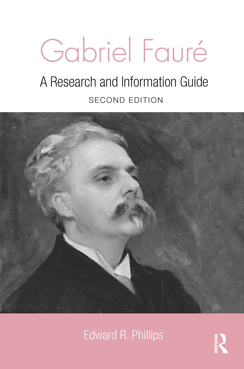 Gabriel Faure: A Guide to Research book cover