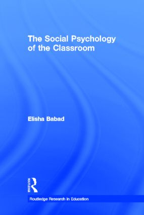 The Social Psychology of the Classroom (Hardback) book cover