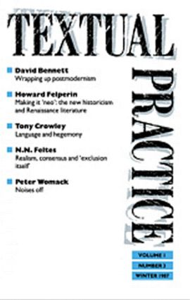 Textual Practice: 1st Edition (Paperback) book cover
