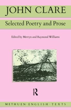 John Clare: Selected Poetry and Prose book cover