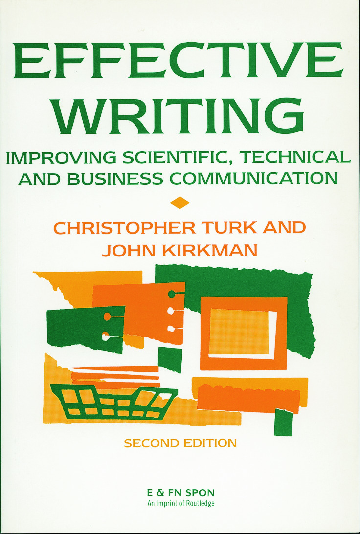 Effective Writing: Improving Scientific, Technical and Business Communication, 2nd Edition (Paperback) book cover