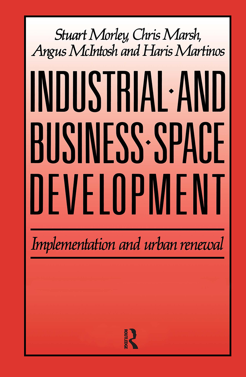Industrial and Business Space Development: Implementation and urban renewal (Hardback) book cover