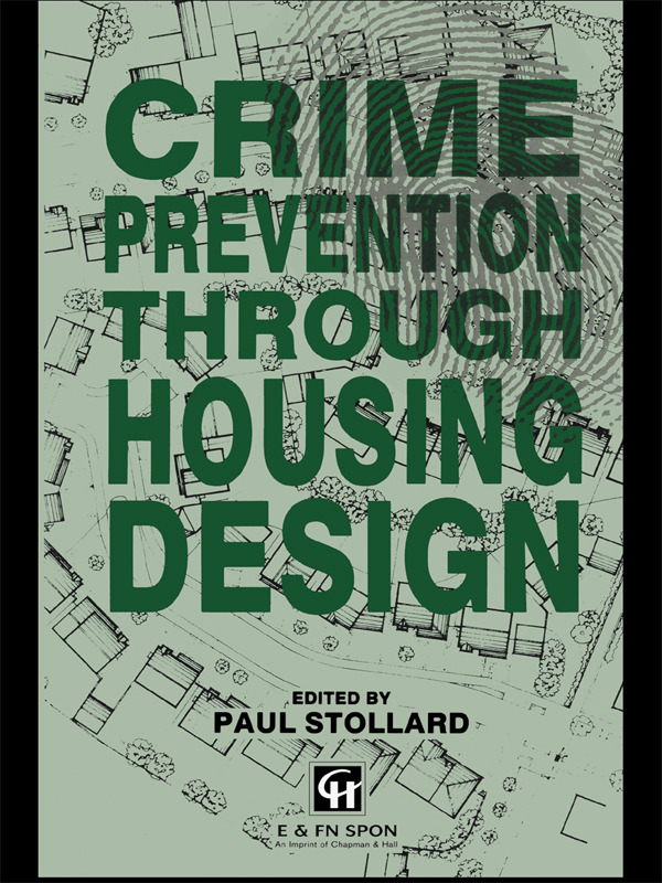 Crime Prevention Through Housing Design (Paperback) book cover