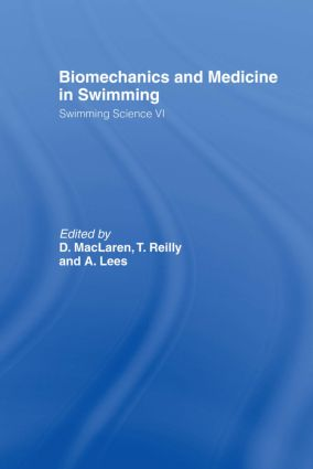 Biomechanics and Medicine in Swimming V1 book cover