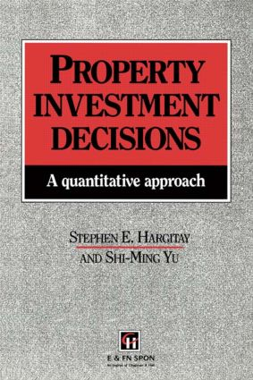 Property Investment Decisions: A quantitative approach book cover