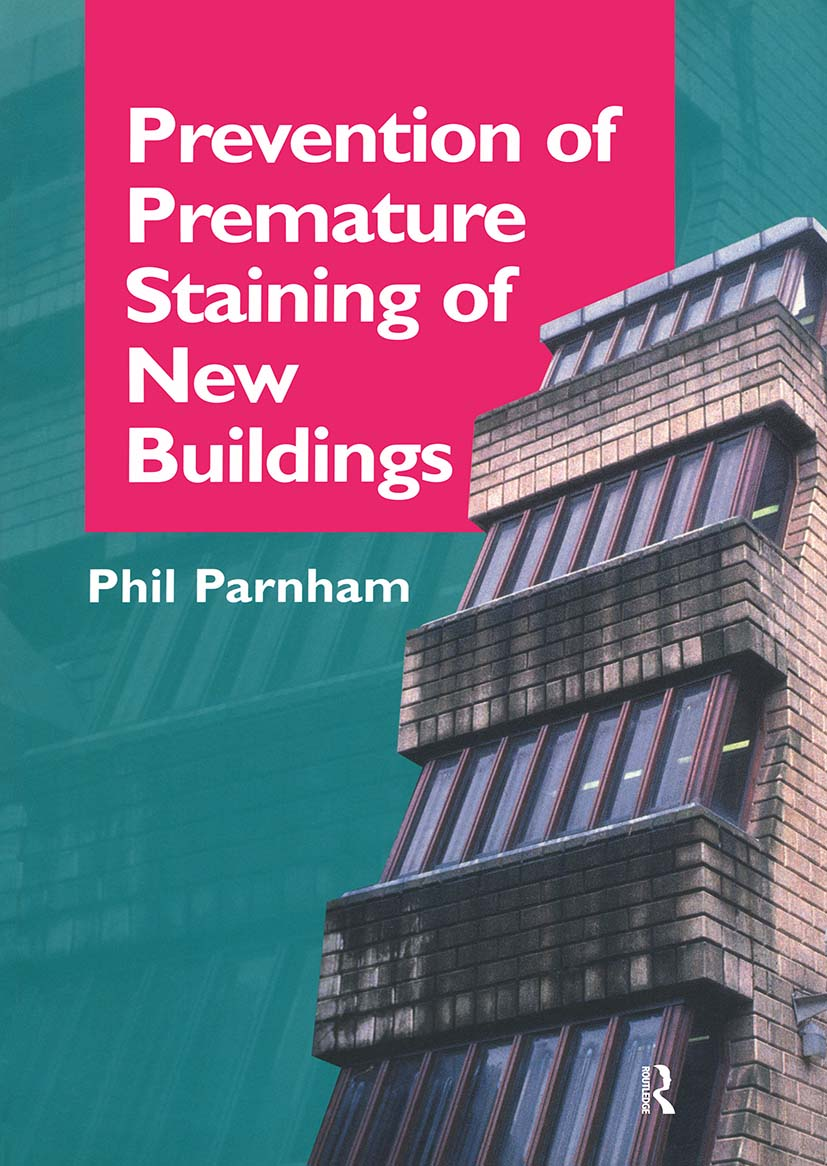 Prevention of Premature Staining in New Buildings book cover