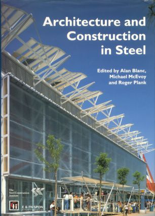 Architecture and Construction in Steel (Hardback) book cover