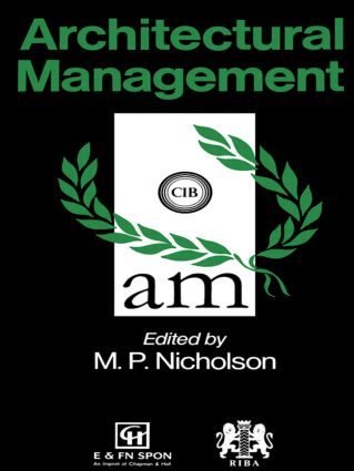 Architectural Management: 1st Edition (Paperback) book cover