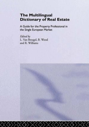 The Multilingual Dictionary of Real Estate