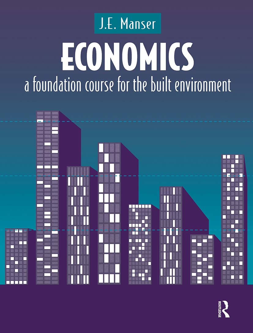 Economics: A Foundation Course for the Built Environment (Paperback) book cover