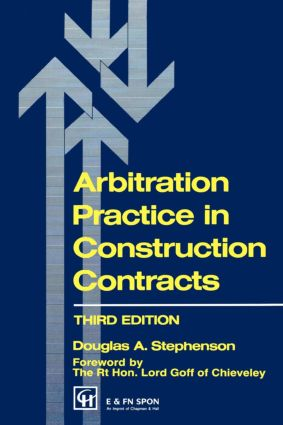Arbitration Practice in Construction Contracts: 3rd Edition (Paperback) book cover