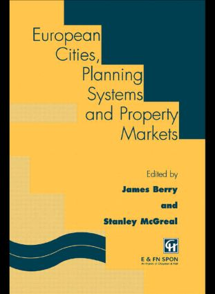 European Cities, Planning Systems and Property Markets book cover