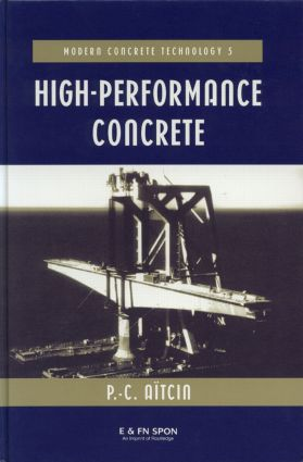 High Performance Concrete: 1st Edition (Hardback) book cover