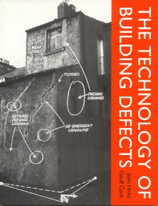 The Technology of Building Defects (Paperback) book cover