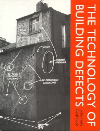 The Technology of Building Defects: 1st Edition (Paperback) book cover
