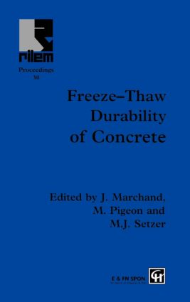 Freeze-Thaw Durability of Concrete (Hardback) book cover