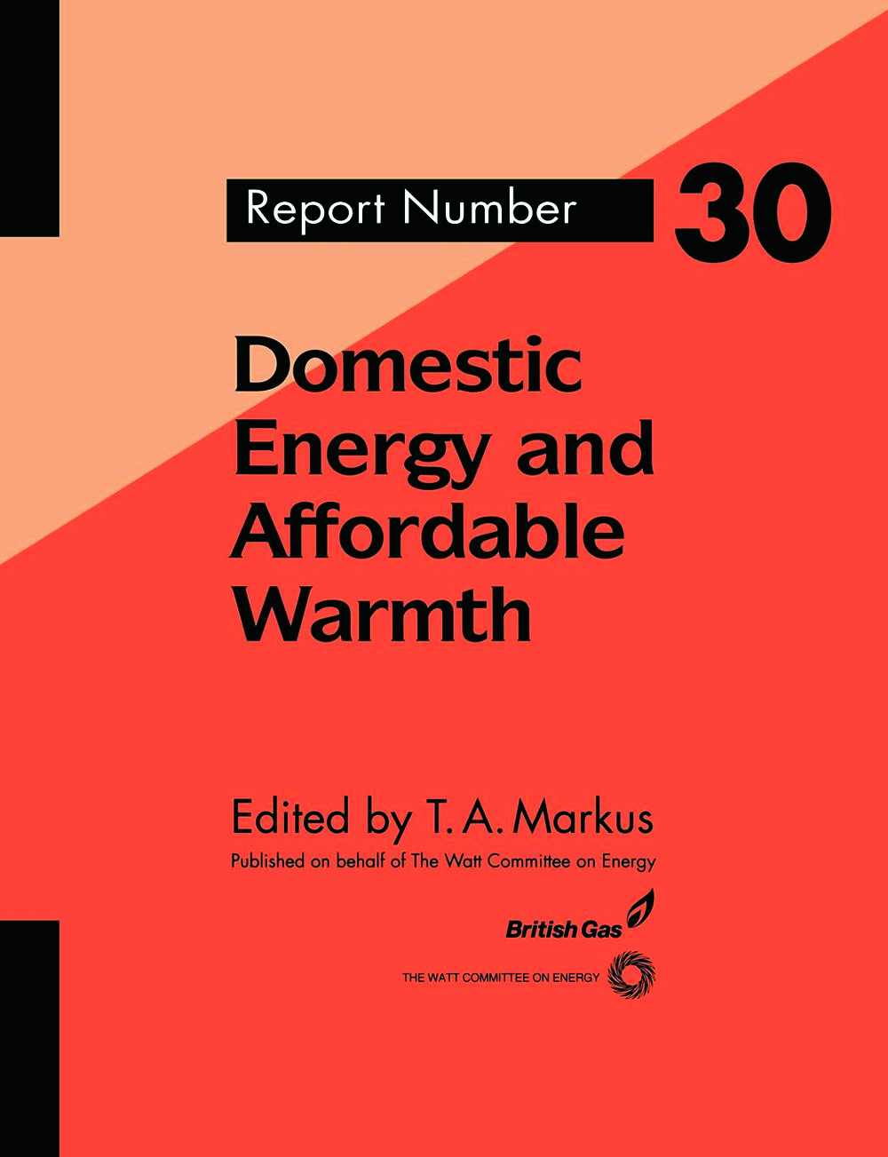Domestic Energy and Affordable Warmth: 1st Edition (Paperback) book cover