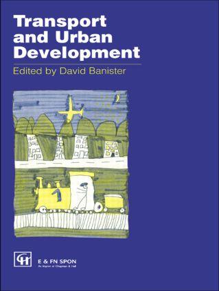 Transport and Urban Development: 1st Edition (Hardback) book cover