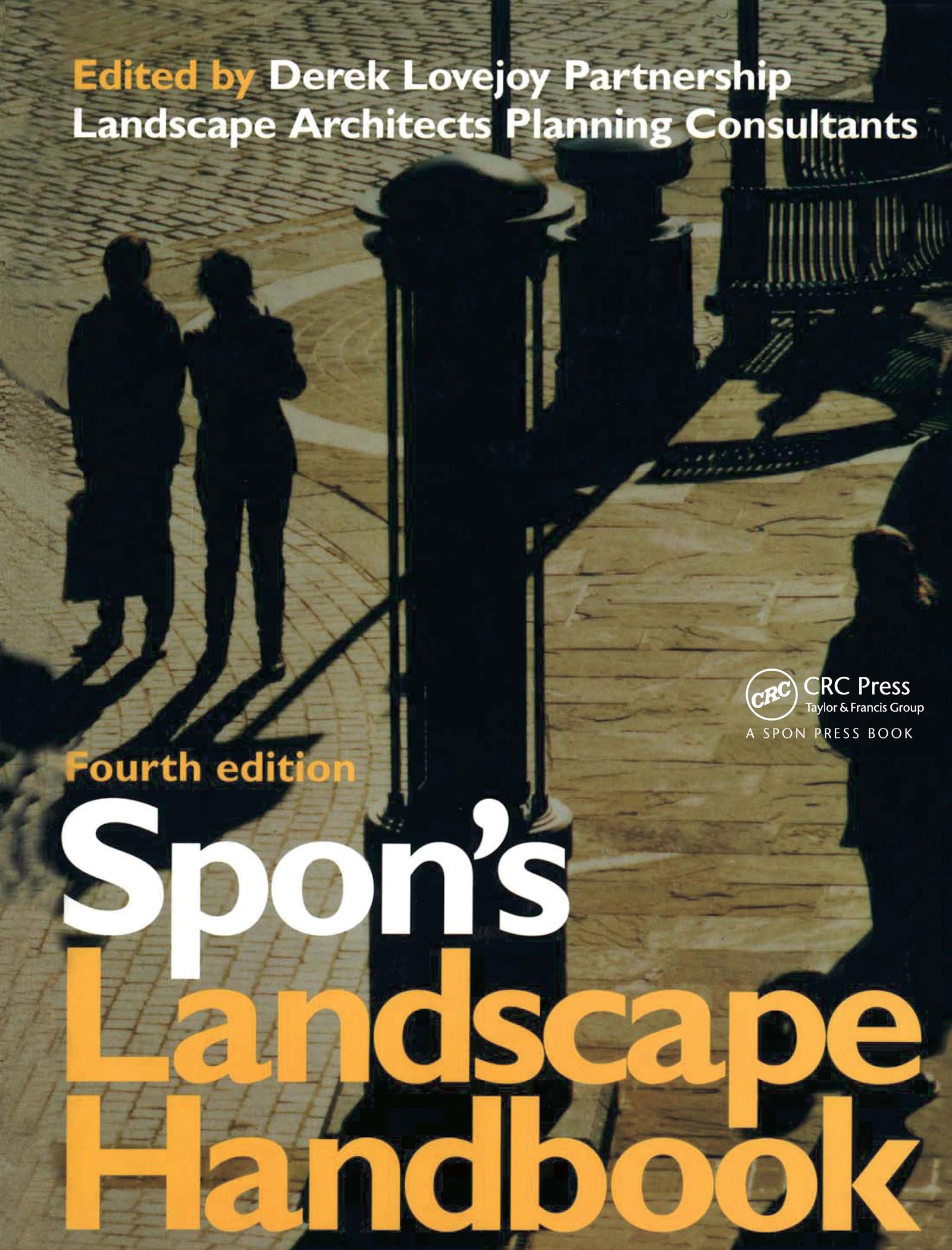 Spon's Landscape Handbook: 1st Edition (Hardback) book cover